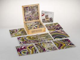 fractalphoto puzzle, 9 Teile, Motiv magic