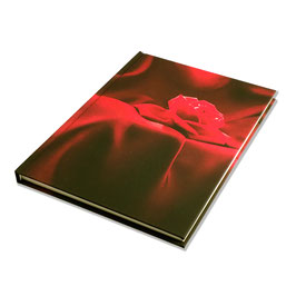 Notitzbuch A5, Rote Rose