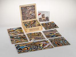 fractalphoto puzzle, 9 Teile, Motiv color