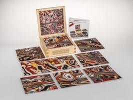fractalphoto puzzle, 9 Teile, Motiv fire