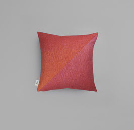 Portor Kissen Cushion Roros Tweed- rosehip