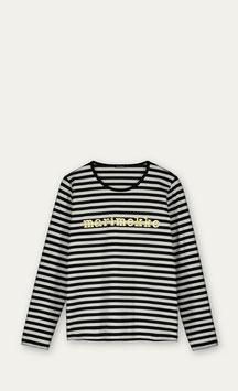 Marimekko Logo Mari Shirt gold- Shirt Paita