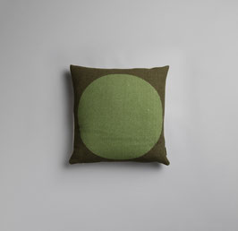 Asmund Bold Kissen Roros Cushion Tweed- pink/green