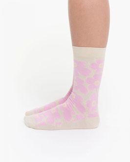 Marimekko hieta socks off white/pink- Marimekko Socken