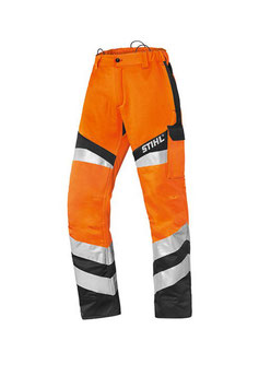 Reflecterende broek Protect FS voor het werken met de bosmaaier