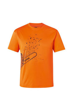 Werk-T-shirt DYNAMIC Mag Cool Kleur fluorescerend oranje