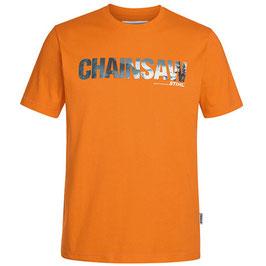 T-shirt (oranje) kettingzaag