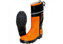 Rubberen laarzen voor gebruik met kettingzagen Special