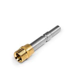 Adapter schroefkoppeling/snelkoppeling