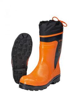 Rubberen laarzen voor gebruik met kettingzagen Economy