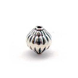 Zilveren kraal B024