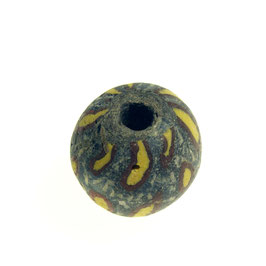 Antieke kraal , Jatim bead Indonesië 0125