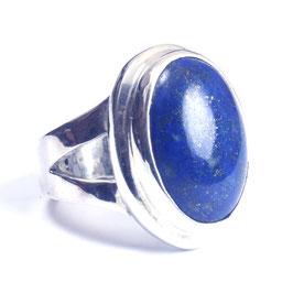Ring zilver met edelsteen 0018