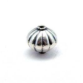 Zilveren kraal B142