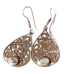 oorbellen zilver Bali KA E 025