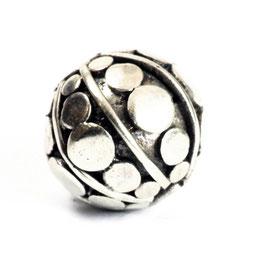 Zilveren kraal ZK0556