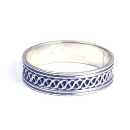 Zilveren ring 0045