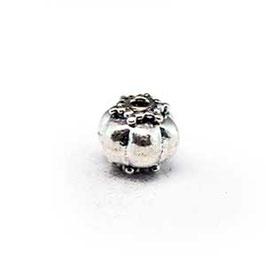 Zilveren kraal B034