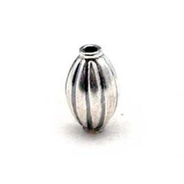 Zilveren kraal B030