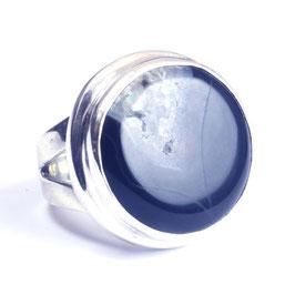 Ring zilver met edelsteen 0004