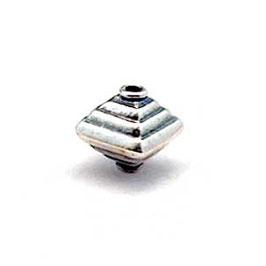 Zilveren kraal B023