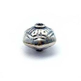 Zilveren kraal B032