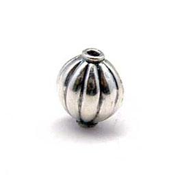 Zilveren kraal B358
