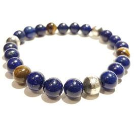 Bead armband 8mm Real Lapis Lazuli