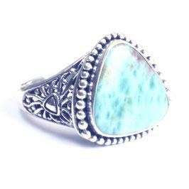 Ring zilver met edelsteen 0020