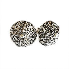 oorbellen zilver Bali KA E 021