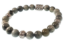 Bead armband 8mm Eternal Eagles Eye