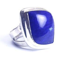 Ring zilver met edelsteen 0016