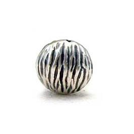 Zilveren kraal B485