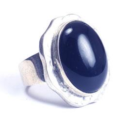 Ring zilver met edelsteen 0002