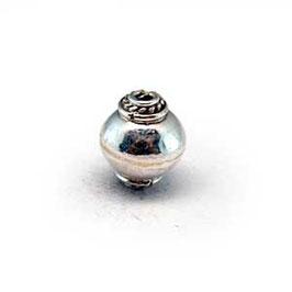 Zilveren kraal B239