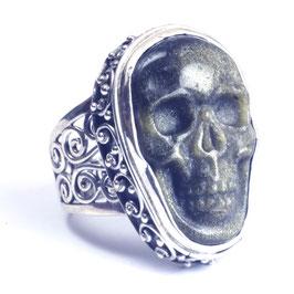 Ring zilver met edelsteen 0005