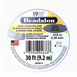 Beadalon geplastificeerd staaldraad B/19 0,46mm