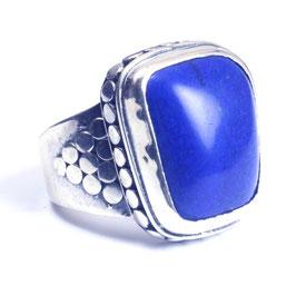 Ring zilver met edelsteen 0017