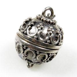 Zilveren magneetslot zkm-006