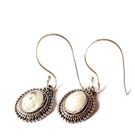 oorbellen zilver Bali KA E 026