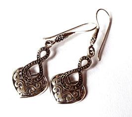 oorbellen zilver Bali KA E 019