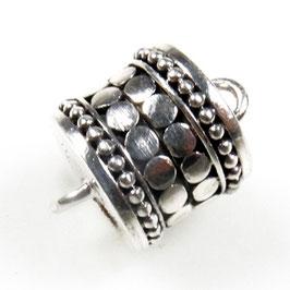 Zilveren  magneetslot zkm-007