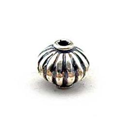 Zilveren kraal B026