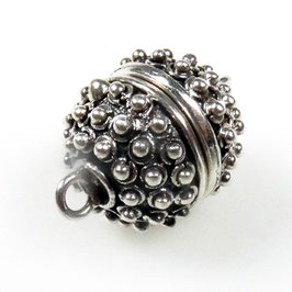 Zilveren magneetslot zkm-009