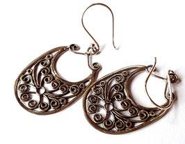 oorbellen zilver Bali KA E 017