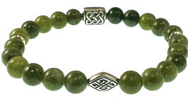 Bead armband 8mm Jade