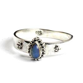 Ring zilver met opaal