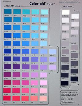 Übersichtsliste - Full Set 314 Farben