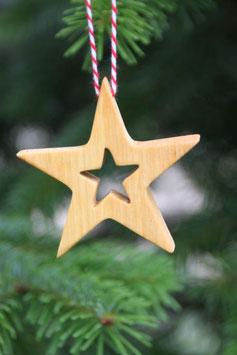 Stern aus Erlenholz