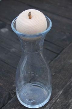 Wasserkaraffe mit Zirben-Apfel